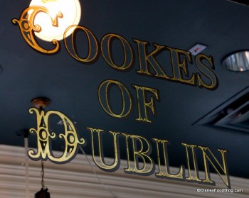 Cookes of Dublin Mirror Sign