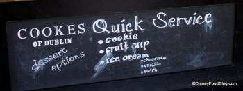 Dessert Chalkboard