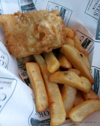 Fish and Chips -- The Original One and One