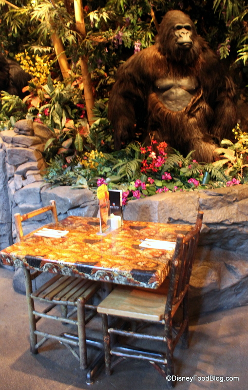 Is Rainforest Cafe On Disney Dining Plan