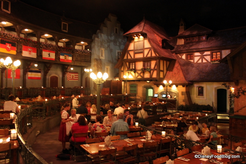 Get To Know Your Neighbors At This Streetfest Biergarten Restaurant In Epcot S Germany Pavilion
