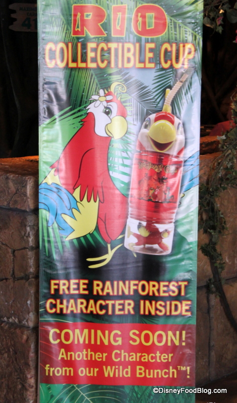 Rainforest Cafe Character Cups
