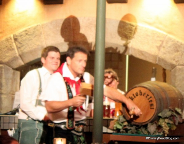 Tapping the Keg