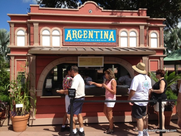 Argentina Food and Wine Festival Marketplace Booth