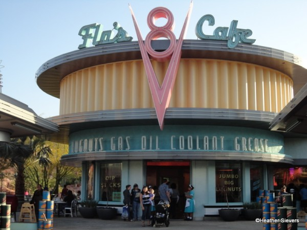 Flo's V8 Cafe in Disney California Adventure's Cars Land
