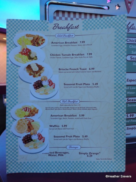 Flo S V Cafe Menu Breakfast