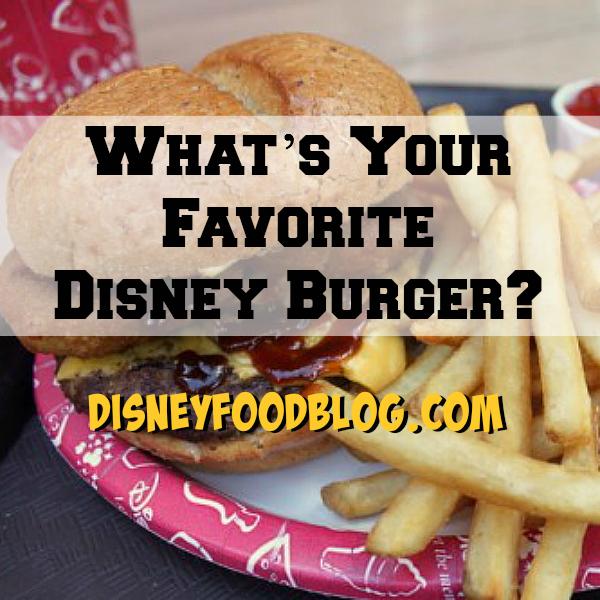 Favorite Disney Burgers