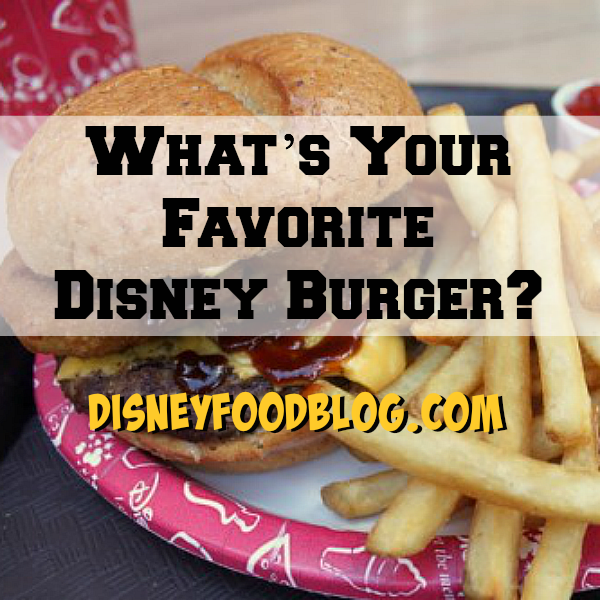 Favorite Disney Burgers