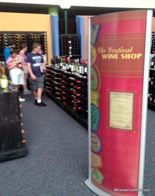 Festival Wine Shop