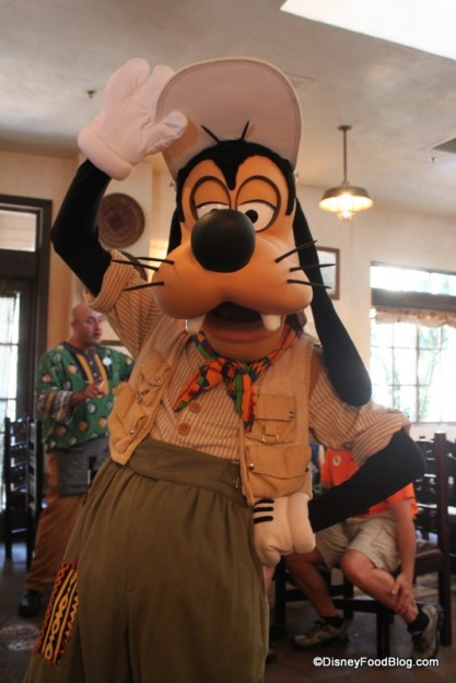 Goofy Strikes at Pose at Tusker House in Disney's Animal Kingdom