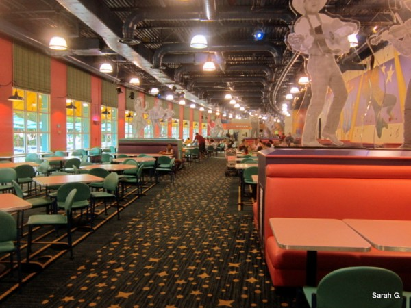 Intermission Food Court Seating Area