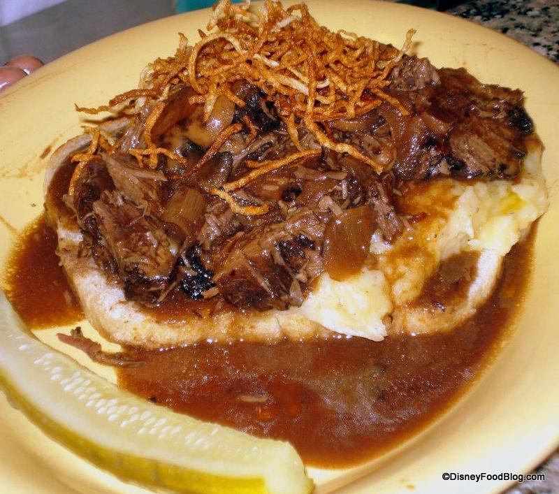 New Pot Roast Sandwich at Beaches and Cream