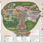 Mickey's Not So Scary Halloween Party Trick-or-Treat Map, and Special Diets Treat Exchange