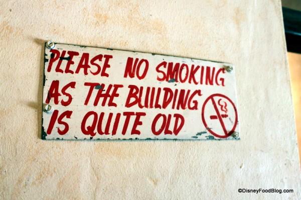 This No Smoking Sign Made Me Laugh!