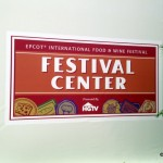 Epcot Food and Wine Festival: Festival Center and Chase VIP Lounge Photo Tour