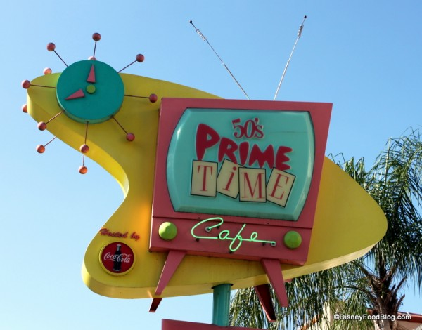 50s Prime Time Sign