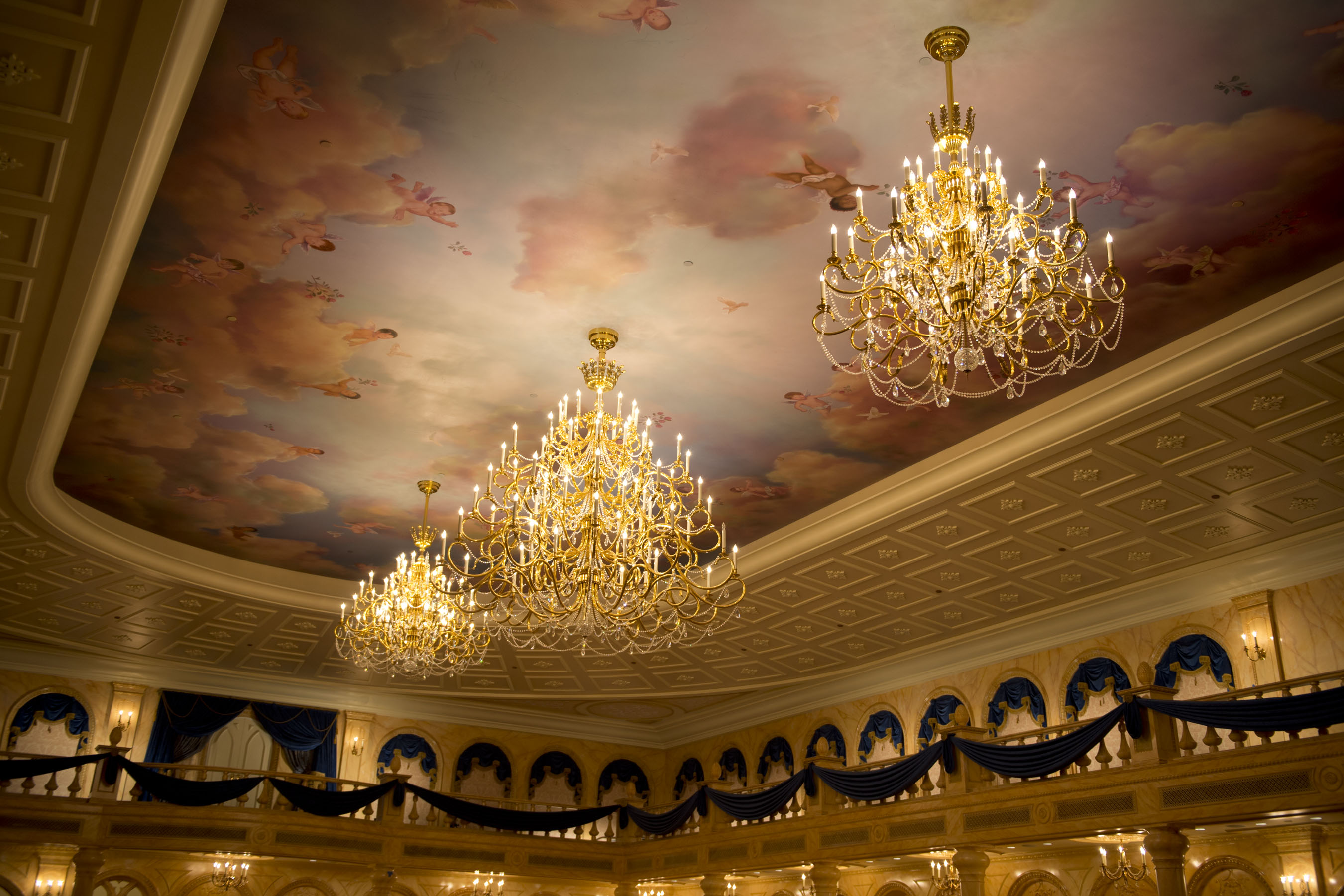 New Be Our Guest Restaurant Ballroom And Rose Gallery Pictures