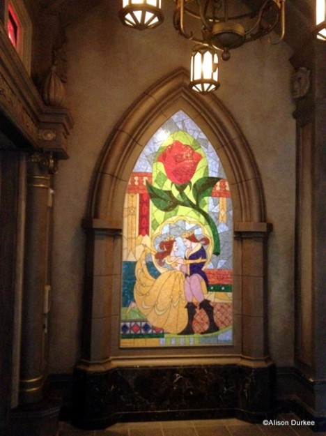 Mosaic of Beauty and the Beast
