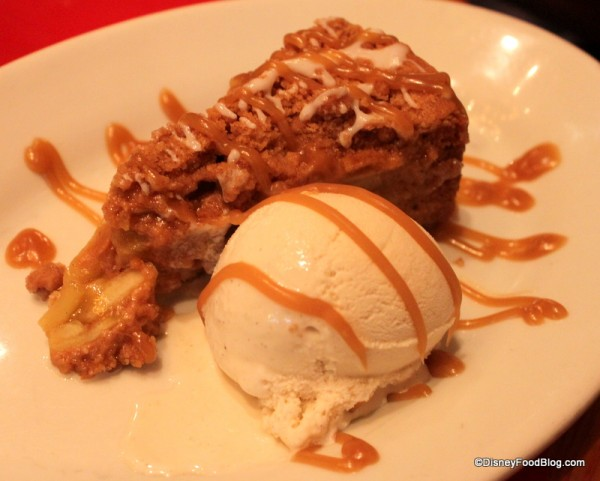 Caramel Apple Pie at Whispering Canyon Cafe