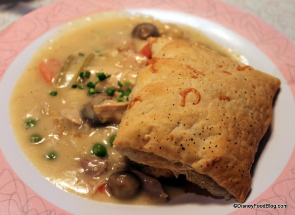 Chicken Pot Pie at 50s Prime Time Cafe