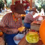 The Incredible Halloween Pumpkin Carvers of Disneyland!