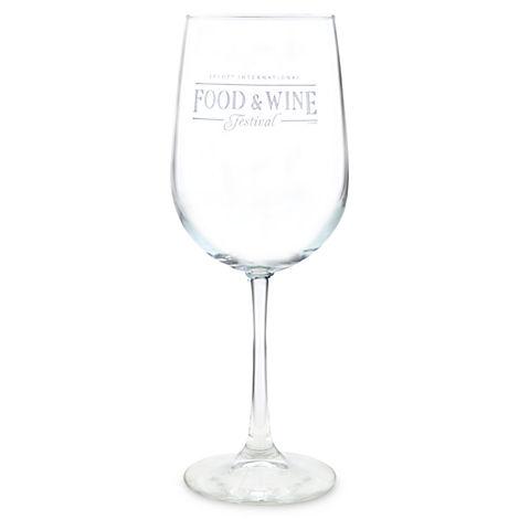 Set of 2-2009 Epcot International Food /& Wine Festival Glass Glasses *READ*