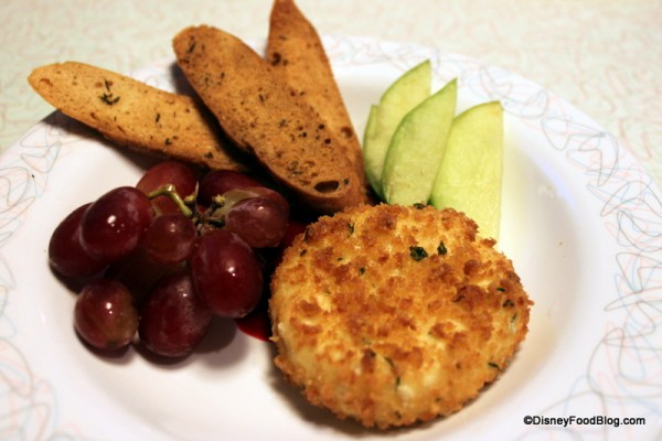 Fried Herb Cheese -- Sooooo Good!