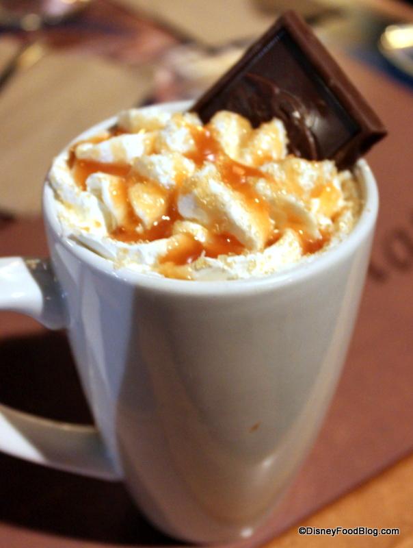 Sea Salt Caramel Hot Cocoa
