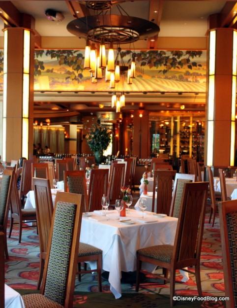 Napa Rose Dining Room
