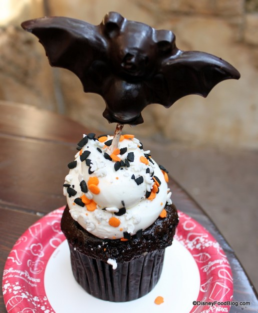 Bat Cupcake at Animal Kingdom