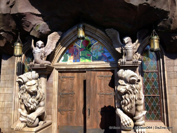 The incredible Entrance to the Beast's Castle!