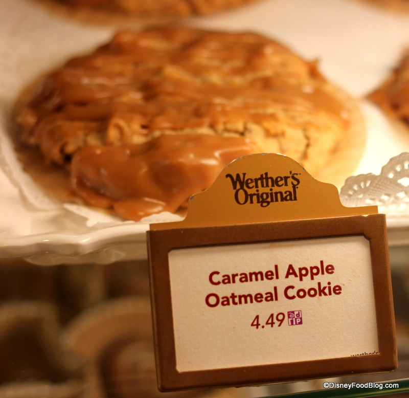 Snack Series Caramel Apple Cookie From Epcot S Germany The Disney