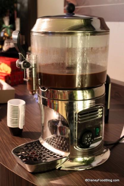 Drinking Chocolate Machine! So Delish!!