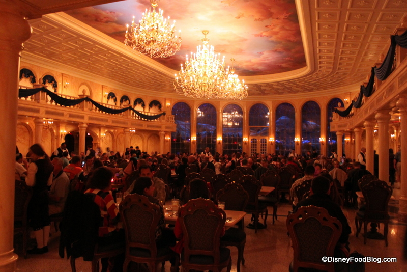 Be Our Guest Restaurant Ballroom Dining Room