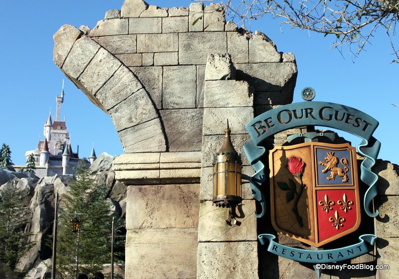 News! Be Our Guest Restaurant to Accept Advance Dining ...
