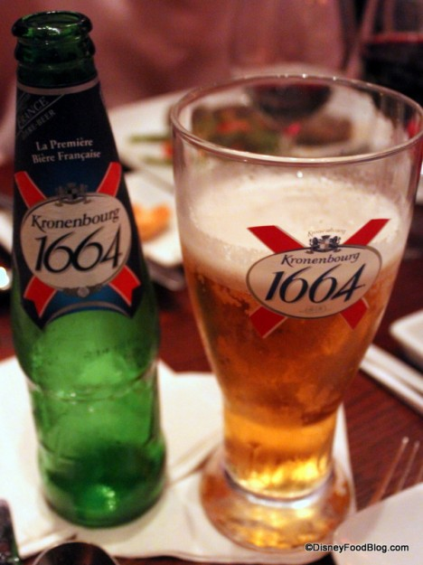 Kronenberg Beer at Be Our Guest