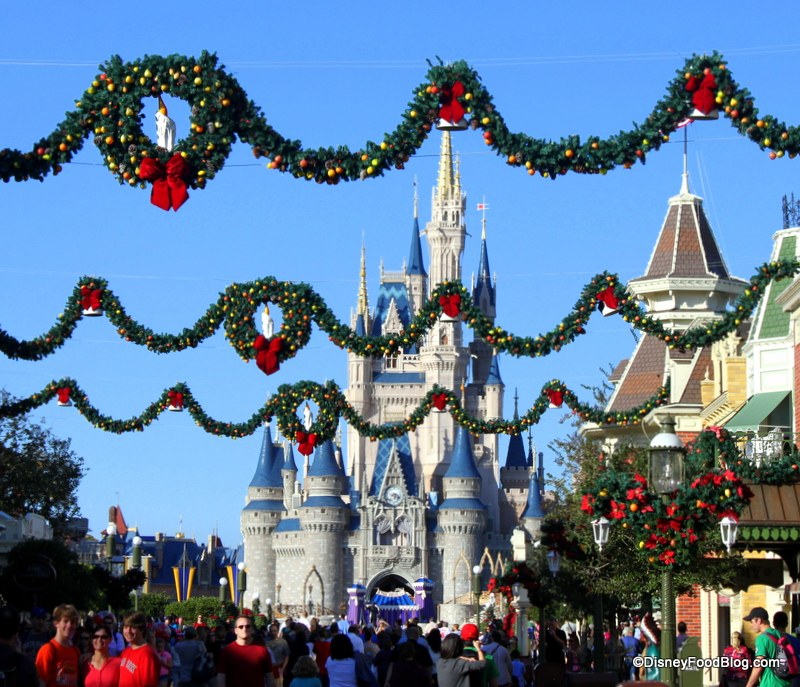 Christmas Meal Options At Walt Disney World The