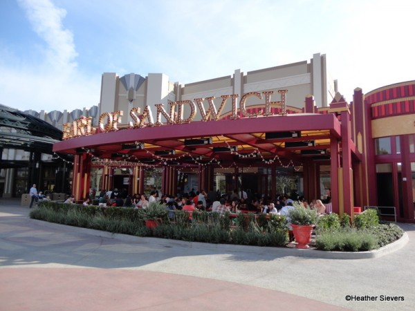 Earl of Sandwich in Disneyland's Downtown Disney