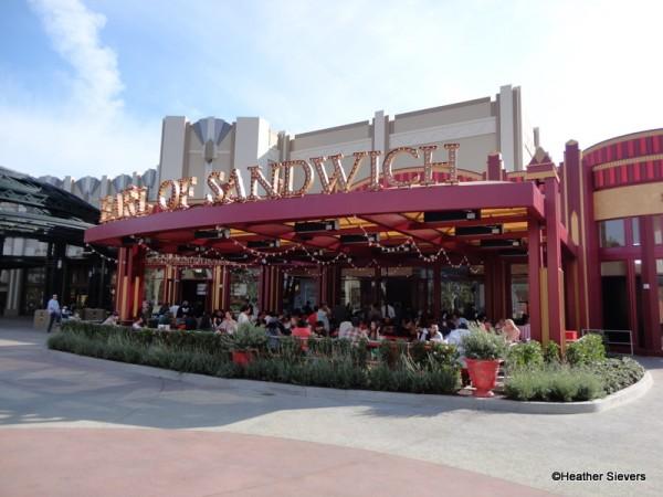 Earl of Sandwich in Disneyland's Downtown Disney