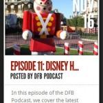 DFB Podcast Episode 11: Disney Holidays!