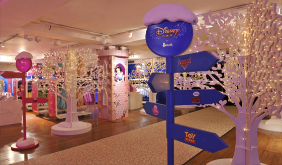 News Disney Caf 233 Opens At Harrods Department Store In