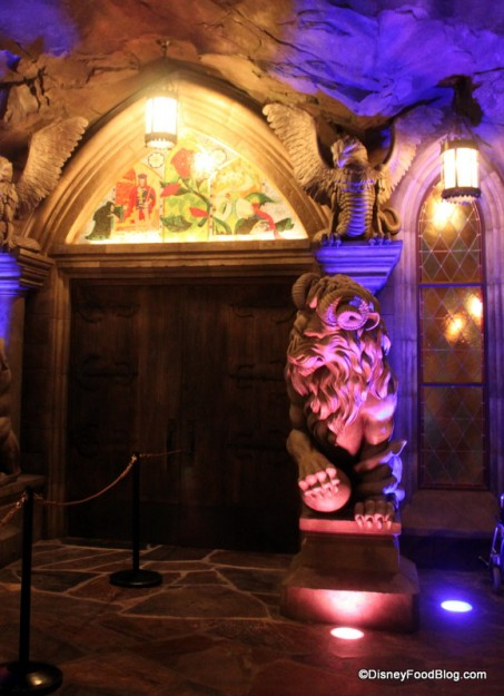Don't be late for dinner at Be Our Guest Restaurant!