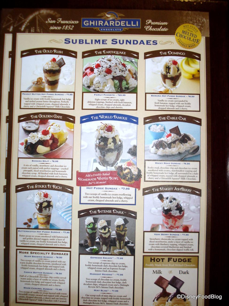 ghirardelli   the disney food blog