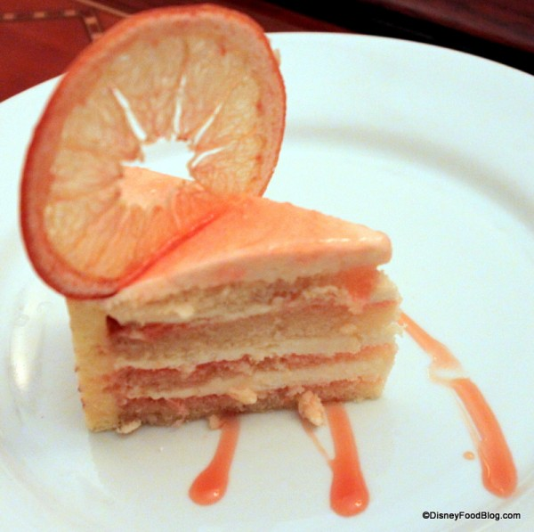 Grapefruit Cake from The Hollywood Brown Derby at Disney's Hollywood Studios