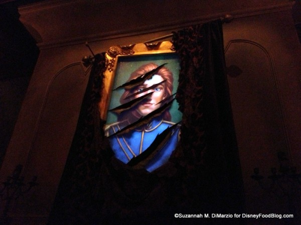 Prince - Beast portrait at Be Our Guest Restaurant West Wing