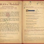 Tables in Wonderland November Events: Be Our Guest Restaurant Dinner, and Beer Dinner at the Wave