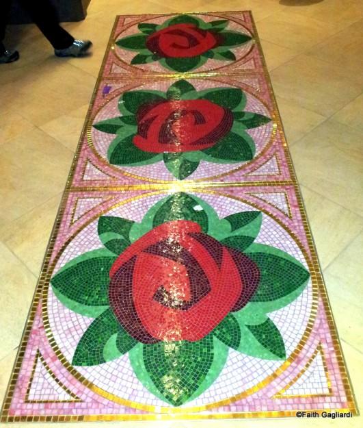 Walkway Between Ballroom and Rose Gallery