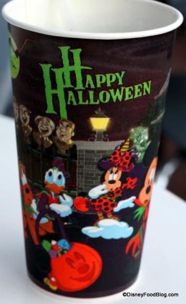 Disney Counter-Service Halloween Drink Cup