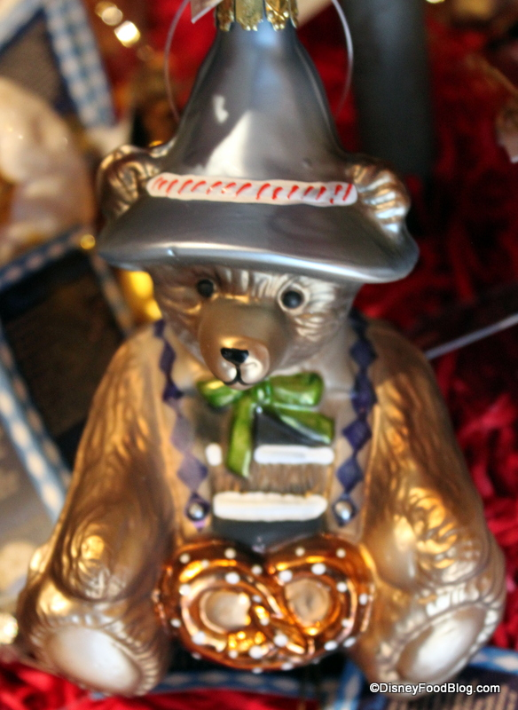 Bear with Pretzel - Germany Christmas Store The Disney Food Blog