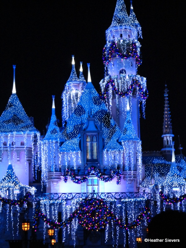 sleeping beautys winter castle - When Does Christmas Start At Disneyland